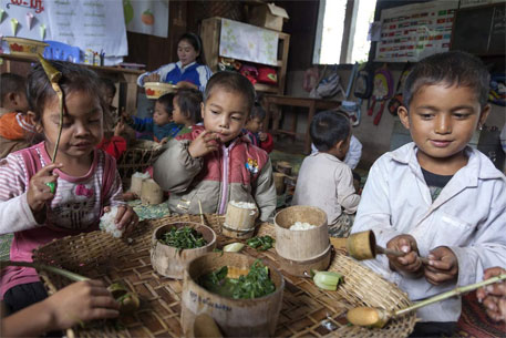 'South Asia has highest number of chronically hungry people'