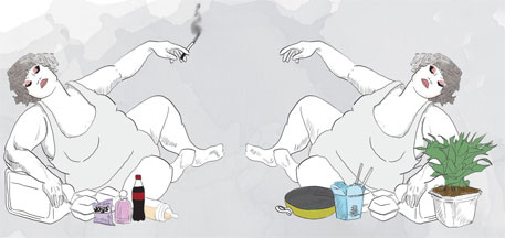 The biggest obesity rise among women occurred in Egypt, Saudi Arabia, Oman, Honduras and Bahrain (Vaibhav Raghunandan)