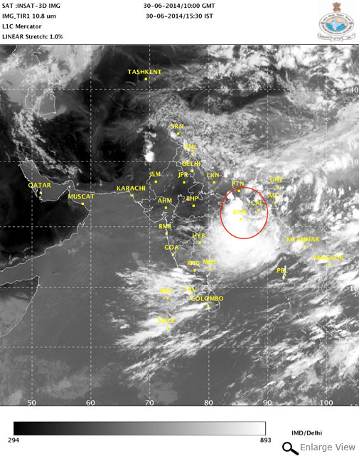 Wait for the monsoon continues