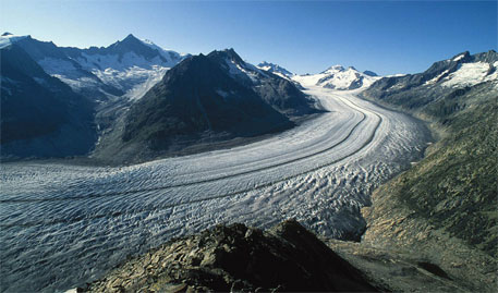 'Glaciers will continue to decrease in the future even with increased precipitation'