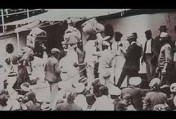 Thousands of workers from Bihar, Uttar Pradesh and Jharkhand were sent by the British colonisers by ship to work in sugarcane plantations in countries such as Mauritius, Trinidad and Tobago and South Africa
