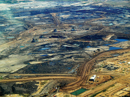 Public protests hold back growth of tar sands industry in Canada