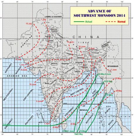 Southwest monsoon to hit Kerala in 48 hours: Met department