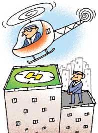 'Private helipads, a must for Mumbai'