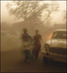 India desertified