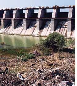 Dudhna dam was built in 31 years