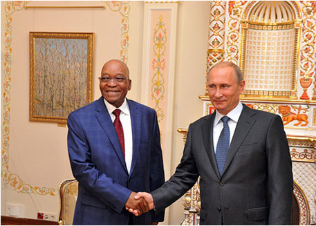 South African president works with cabinet on nuclear matters, says official statement
