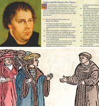 Martin Luther's 95 Theses were shared so rapidly that within a month they were known across Europe