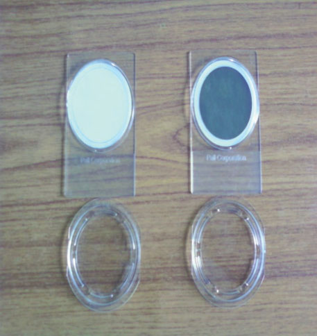 Unexposed and exposed PM2.5 filter paper