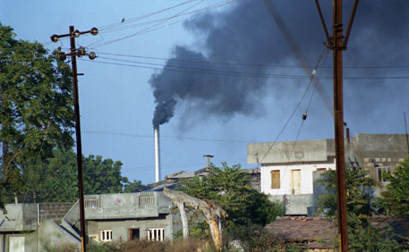 Under the scheme, industries that emit excess pollutants can buy points from industries that overachieve targets just like in the carbon trading system (Photo: Preeti Singh)