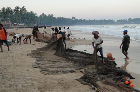The coastal areas are gradually being invaded by the tourism industry, real estate and other development sectors, displacing the traditional fishing communities (Photo: Ankur P/Flickr)