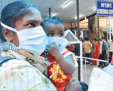 Delhi records its first swine flu death