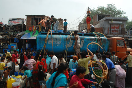 Delhi ranked second among world's most water-stressed cities