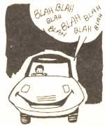 Chatty car