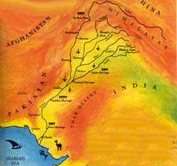 Death of the Indus delta