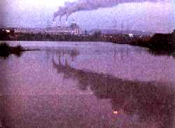 Pollutants from major industri