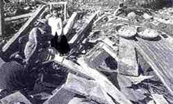 Building to resist quakes