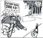Cutting log exports
