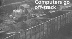 Computers go off - track