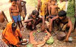For a bowl of rice: tribals ba
