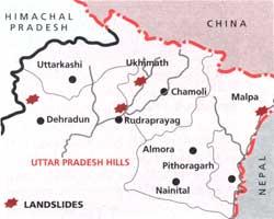 Landslide of terror