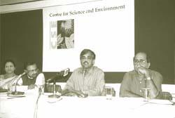 (from left) Padma S Vankar, An (Credit: AMIT SHANKER / CSE)