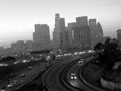 California: facing a sky-scra