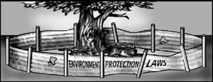 Fortifying ecofront