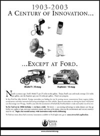 Ford: Looking backward