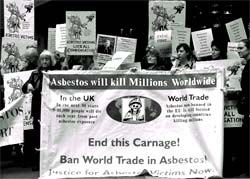 Out with asbestos!