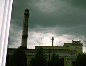 In Obninsk there was a mausoleum