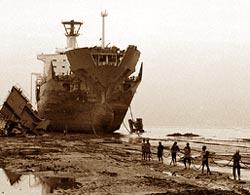 Toxic ships