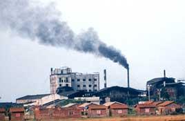 Raipur: the most polluted city