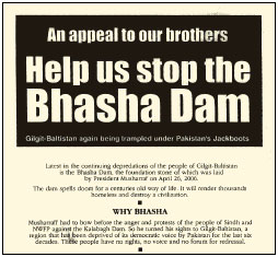 A plea from the Bhasha-dam affected
