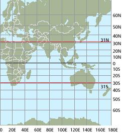 Atmospheric warming is widening tropical region