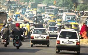 Hazardous mobile air toxins in the air