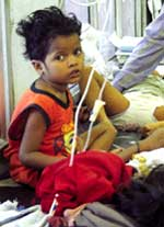 Dengue outbreak in Delhi