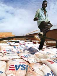 WFP cuts ration to Mozambique