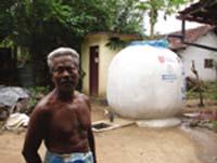 Rainwater harvesting aids tsunami-hit Sri Lankan villages
