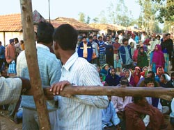 Protest against Haripur nuclear plant in West Bengal