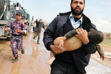 Septic cesspool flood kills nine in Gaza Strip