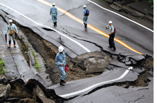 Quake triggers nuclear leak in Japan