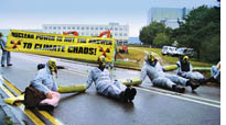 Climate protest spreads to Sizewell nuke plant