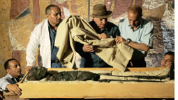 Mummy of King Tutankhamen