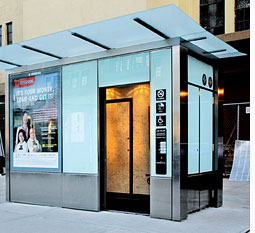 New York to get its first public toilets