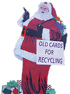 Recycle greetings cards