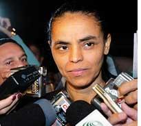 Brazil's Environment Minister Marina Silva resigns