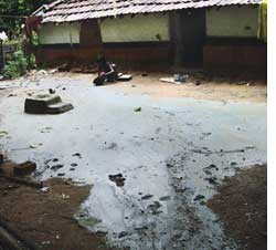 Jadugoda village under uranium (Credit: COURTSEY: JOAR)