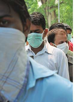 H1N1 caught India sleeping