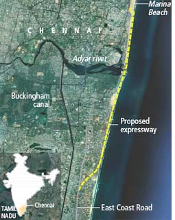 Coastal flyway to flatten 16 villages